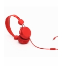 Coloud Colours Headphone With Mic Red