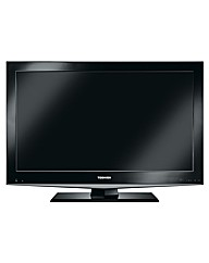 Toshiba 40in 1080HD LCD TV +Installation
