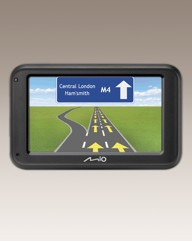 Mio 4.3in Sat Nav - UK Maps