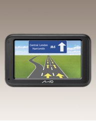 Mio 5in Sat Nav - UK Lifetime Map Update