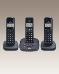 Triple Cordless Phone Answering Machine