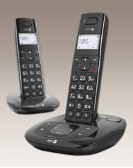 Twin Cordless Phone - Answering Machine