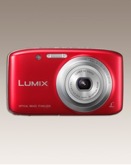 Panasonic 16MP Digital Camera Red