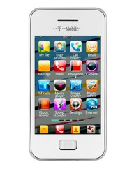 T-Mobile Energy White Mobile Phone