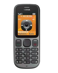 O2 Nokia 100 Mobile Phone - Black