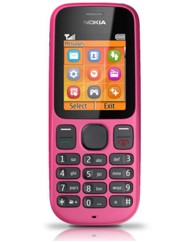 O2 Nokia 100 Mobile Phone Pink