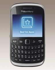 O2 Blackberry 9320 Mobile Phone - Black
