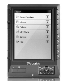 Aluratek eBook Reader