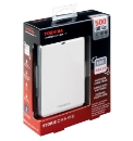 Toshiba 500GB External Storage - White
