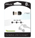 PNY Micro Size USB Flash Drive - 8GB