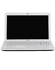 Toshiba 15.6in Core i3 Laptop - White