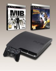 PS3 320GB Console + 2 Games