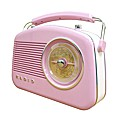 Steepletone Retro Radio - Pink