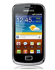 Orange Samsung Galaxy Mini 2 Mobile