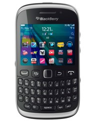 Orange Blackberry 9320 Mobile - Black
