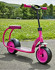 Besta Pink and Black Scooter