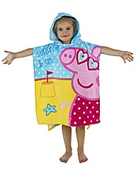 Peppa Pig Towel & Poncho Set