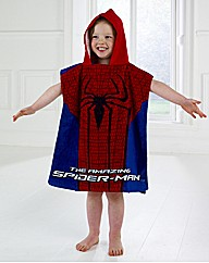 Spiderman Towel & Poncho Set