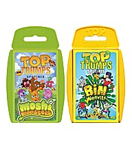 Top Trumps Bin Weevils & Moshi Monsters