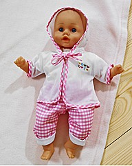 Talking 14 Inch Baby Doll & Accessories