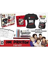 One Direction Design a Fan T-Shirt Kit
