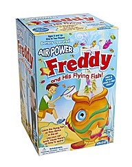 Freddy Flying Fish Catching Game