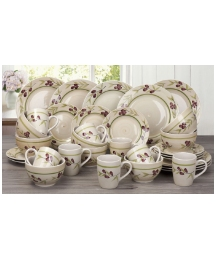 32 piece Olive Hand Painted Dinner Set