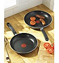 Tefal 2 Thermospot Frying Pans