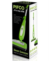 Pifco 2 in 1 Steam Sweeper