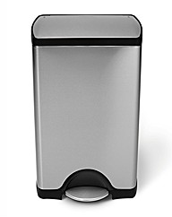 Simple Human 50L Rectangular Pedal Bin