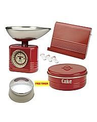 Typhoon Vintage Kitchen Cake Set