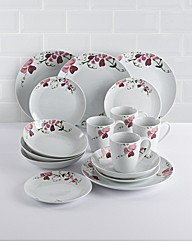 16 piece Orchid Dinnerware Set
