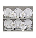 40 Piece Country Garden Dinnerware Set