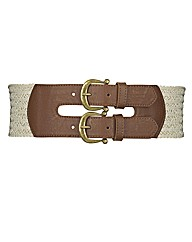 Shirring Waist Belt