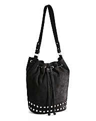 Stud Detail Duffle Bag