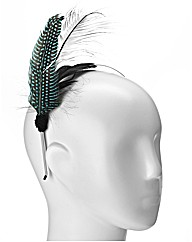 Feather Trim Headband