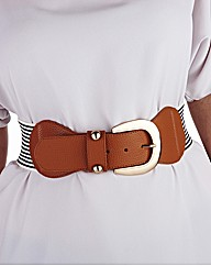 Stripe Waist Belt