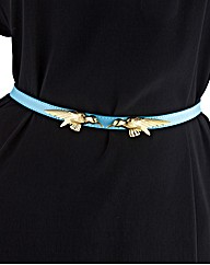 Bird Detail Waist Belt