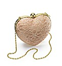 Love Heart Clutch Bag