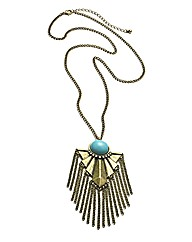 Fringe Pendant Necklace