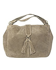 Claire Richards Suede Handbag