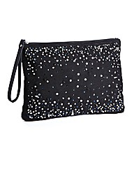 Diamante Zip Pouch