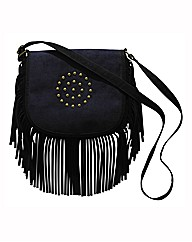 Studded Fringe Bag