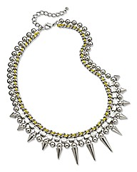Neon Spike Necklace