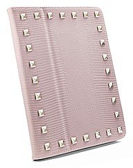 IPad 2/3 Pale Pink Stud Flip Case