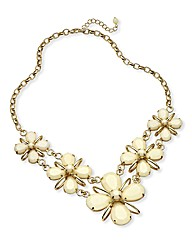 Floral 3D Statement Necklace