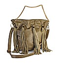 Fringe Duffle Bag