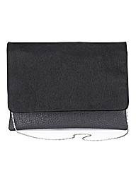 Faux Fur Oversized Clutch Bag