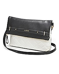 Lipsy Monochrome Cross Body Quilted Bag