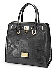 Lipsy Moc Croc Large Day Bag